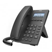 X1 Fanvil - IP telefon, 2x SIP linky, 128x48px podsvícený LCD, 2x RJ45 Mb, včetně adaptéru