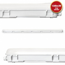 TP156040-6F Tesla - Tri-proof LED light 1500mm, 60W, 7800lm, 4000K, IP65, CRI80, 230V