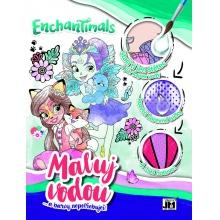 omalovánka A4 Maluj vodou Enchantimals (od 3 let)