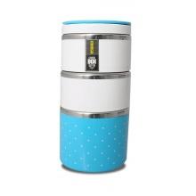 TM-123blue ELDOM Promis - trojdílný thermobox na potraviny, modrá