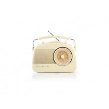 Rádio FM / BLUETOOTH NEDIS RDFM5010BG BEIGE