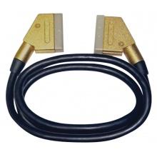 Kabel Scart - Scart  21PIN  1,0m  HQ