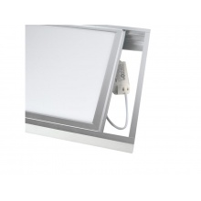 Rámeček pro LED panely 60x60cm, stříbrný