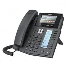 X5S+PSU Fanvil - IP telefon, 16x SIP linky, 3.5'' Color LCD 420*320, 8x BLF key, 2x RJ45 Gb, USB, POE+adapt.