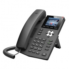 X3SP Fanvil - IP telefon, 2x SIP linky, 2.4'' Color LCD 320*240, 2xRJ45 Mb, POE
