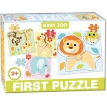 DOHÁNY Baby puzzle ZOO 4v1 (2-5 dílků)