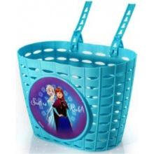 DINO BIKES Plastový dívčí košík na kolo Ledové království
