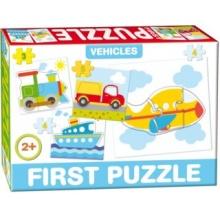DOHÁNY Baby puzzle Doprava 4v1 (3-5 dílků)