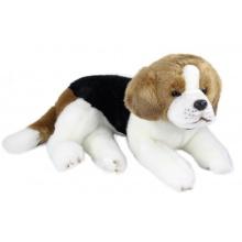 plyšový pes bígl ležící, 38 cm (od 0 let)