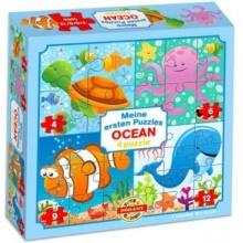 DOHÁNY Puzzle Oceán 4v1 (4,6,9,12 dílků)