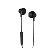 Sluchátka do uší s mikrofonem YENKEE YHP 305BK