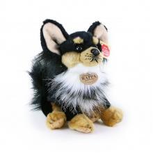 plyšový pes čivava sedící, 24 cm (od 0 let)