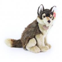 plyšový vlk sedící, 28 cm (od 0 let)