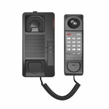 H2S Fanvil - IP hotelový telefon na stěnu, 1x SIP linka, 1x RJ45 Mb, POE