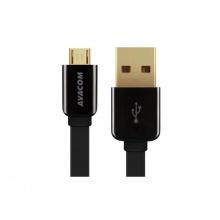AVACOM MIC-120K kabel USB - Micro USB, 120cm, černá