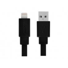 AVACOM MFI-120K kabel USB - Lightning, MFi certifikace, 120cm, černá