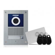 DRC-41UNHD/RFID, 1-tlačítková dveřní stanice 1.3 Mpx, HD Ready, čtečka RFID, zápustná montáž, Commax