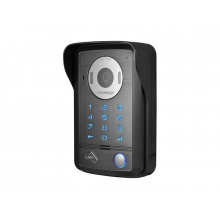 DRC-40DKHD, dveřní stanice 1.3 Mpx s klávesnicí a RFID čtečkou, HD Ready, povrchová montáž, Commax