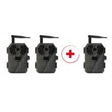 3x Fotopast BUNATY Full HD GSM 4G za cenu dvou!