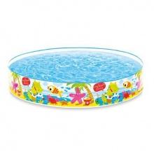 Intex Samonosný bazén 152x25 cm