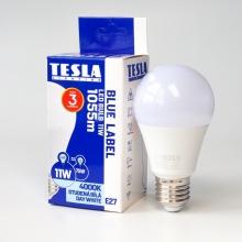 BL271140-7 Tesla - LED žárovka BULB E27, 11W, 230V, 1055lm, 25 000h, 4000K denní bílá