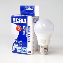 BL270540-7 Tesla - LED žárovka BULB, E27, 5W, 230V, 470lm, 25 000h, 4000K denní bílá