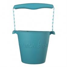 Scrunch silikonový kbelíček modrý twilight