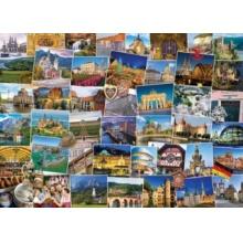 EUROGRAPHICS Puzzle Světoběžník, Německo 1000 dílků