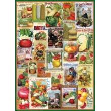 EUROGRAPHICS Puzzle Zeleninové plakáty 1000 dílků