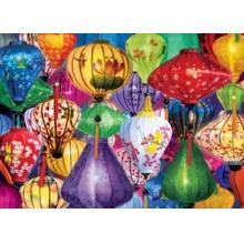 EUROGRAPHICS Puzzle Asijské lucerny 1000 dílků