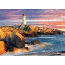 EUROGRAPHICS Puzzle Peggy's Cove Lighthouse, Nové Skotsko 1000 dílků