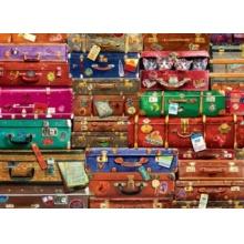 EUROGRAPHICS Puzzle Cestovní kufry 1000 dílků