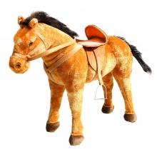 velký plyšový kůň 70 cm - možno sedět (od 3 let)