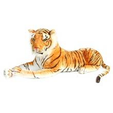 Velký plyšový tygr ležící 105 cm (od 3 let)