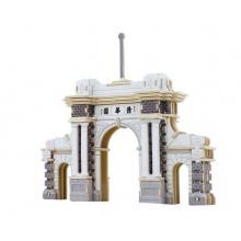Dřevěné skládačky 3D puzzle - Brána Tsinghua