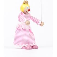 Dřevěná loutka Princezna Anička