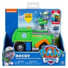 SPIN MASTER Tlapková patrola - Rocky s popelářským vozidlem