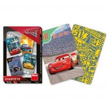 Karty kvarteto Cars 3 (od 4 let)