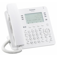 KX-NT630NE Panasonic - IP systémový tel., čb. disp. 3,6