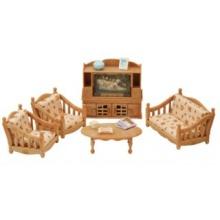 SYLVANIAN FAMILIES Pohodlný obývací pokoj sada 5339