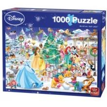 KING Puzzle Disney Vánoce 1000 dílků