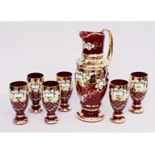 Bohemia Glass Set sklenic se džbánem