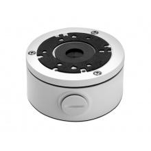 AVA-456-WBKT, montážní patice pro skrytou montáž kabelů, průměr 101 mm, bílá verze, AVTECH