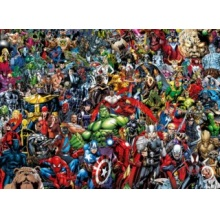 CLEMENTONI Puzzle Marvel: Impossible 1000 dílků