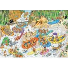 JUMBO Puzzle Rafting na divoké vodě 3000 dílků