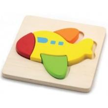 STUDO WOOD Puzzle Letadélko 4 dílky