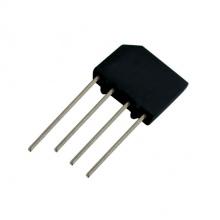 Můstek diod.  2A/800V   KBP08   plochý
