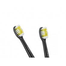 Hlavice pro zubní kartáčky TEESA SONIC BLACK 2 ks v blistru, měkké
