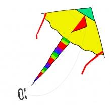 drak létající nylonový 120 x 70 cm (od 5 let)