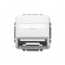 Kryt zásuvky pro nosné masky ABB TANGO 5014A-A100 B WHITE